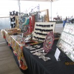image of my display at flea market