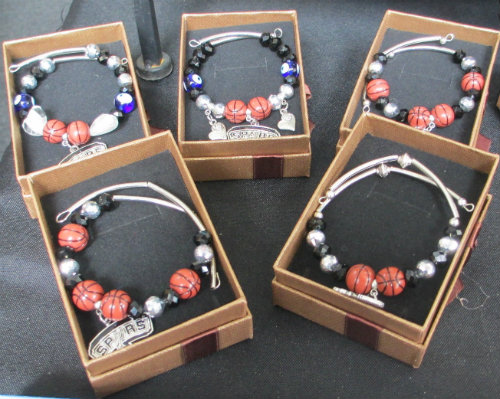 $10 Spurs Memory Wire Bracelets