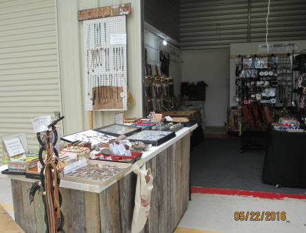 view of outside left side of space - Ed's Corner -Bead and Jewelry Store at Traders Village - San Antonio
